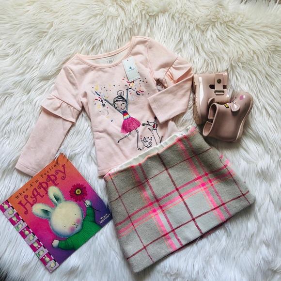 GAP Other - Toddler girl plaid mini skirt